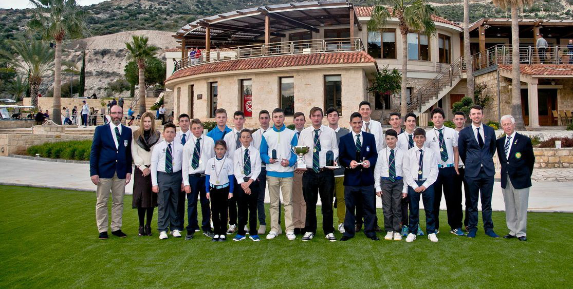 TEAM OF 20 GREEK JUNIORS PLAY IN THE SEVERIS INTERNATIONAL OPEN AT SECRET VALLEY